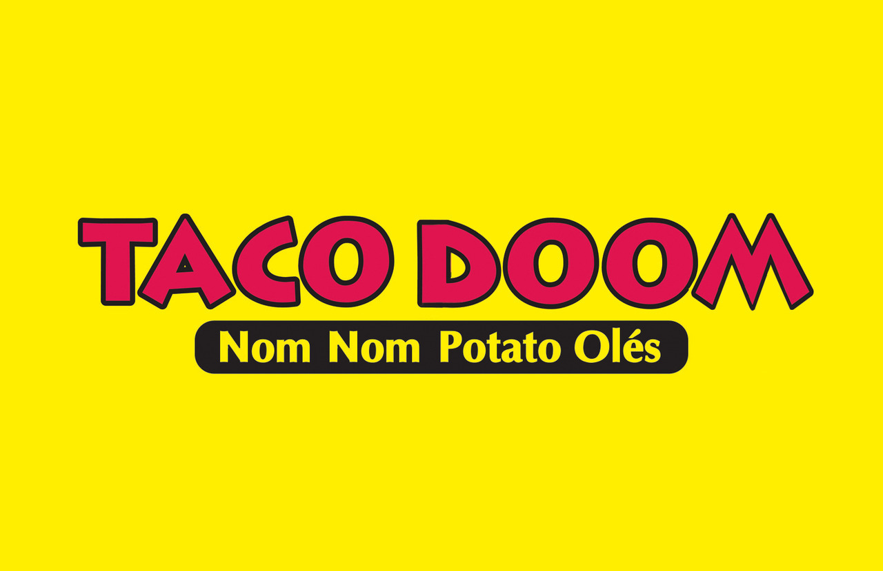 TACO DOOM (The Arts Council Of DOOM) logo ©2012 MiLKSOP STUDiO