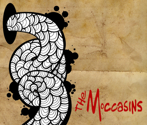 The Moccasins, album artwork ©2012 MiLKSOP STUDiO