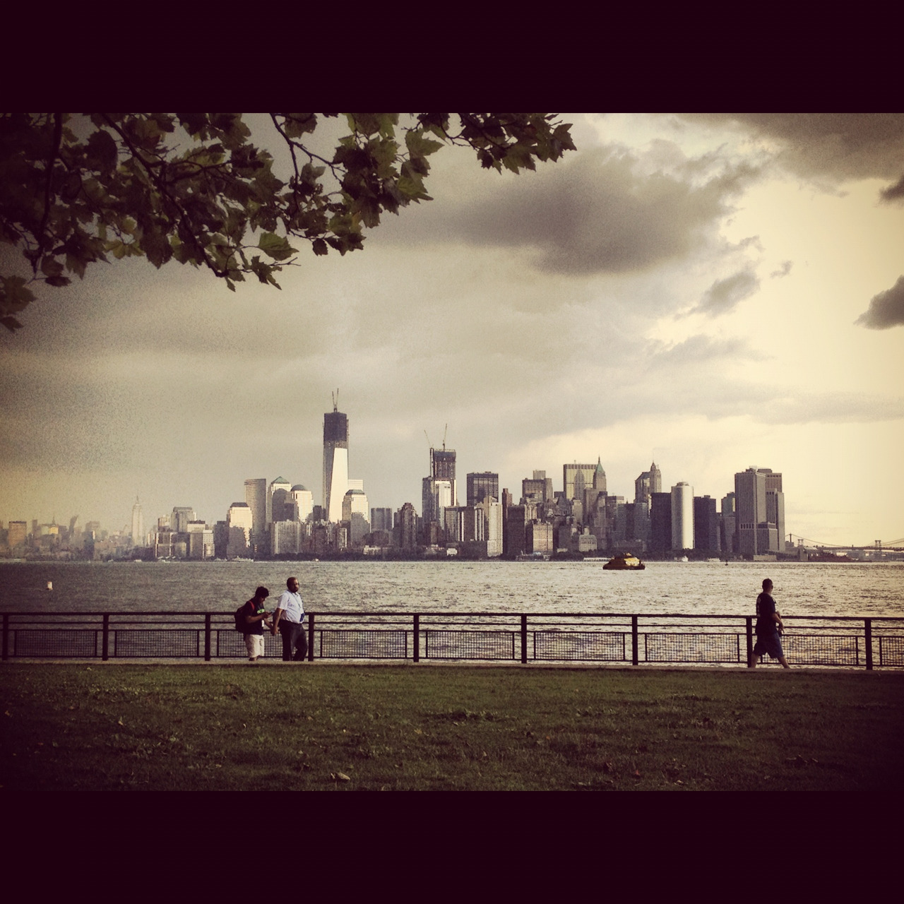 The view from Liberty Island. I love New York so much. I can't wait until I call it my home.
