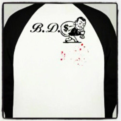 #BDSClothing Back View of #Baseball Shirt designed by @rookiesuave  (Taken with Instagram)