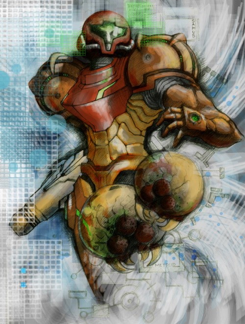 Samus Aran Created by Jackbot