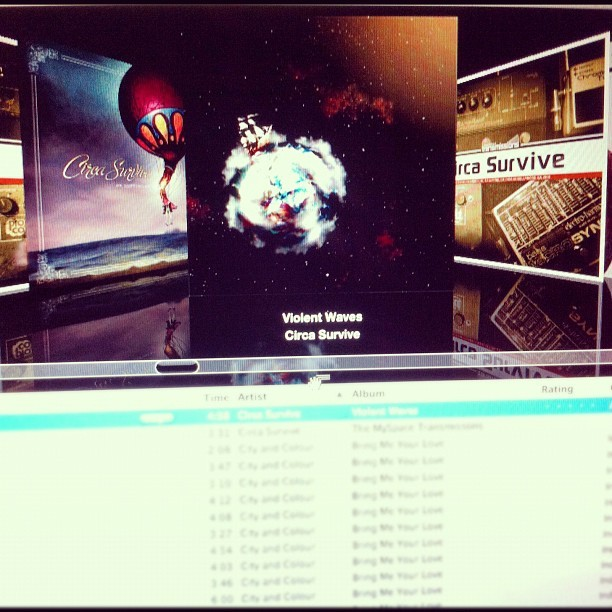 babygirrltwistaway:  I love seeing this on my #iTunes #circasurvive #violentwaves (Taken with Instagram)