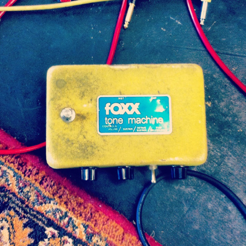 Foxx Tone Machine  Super raunchy sounding Octavia, I love this thing. This one belongs to Jeff Massey of The Steepwater Band. Audio to be posted shortly! $$$