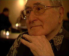 "thedailywhat:  RIP Gad Beck, 88: Gad Beck, activist and last known gay Jewish Holocaust survivor, died Sunday. He was 88. During World War II, Beck joined an underground resistance movement to fight the Nazi regime. In a daring act of heroism, he was able to rescue his boyfriend from a deportation center by impersonating a Hitler Youth. After the war, Beck spent his life educating and advocating for Judaism and gay rights, and was the subject of a documentary in 2006. Friends lauded Beck for his signature wit and openness. Reflecting on his life, Beck said, ""God doesn't punish for a life of love."" [jpost]  Wow."