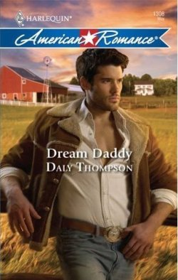 Matt Aymar, romance novel hero,on the cover of Dream Daddy by Daly Thompson (2011)