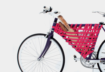 Too cool for a bike basket? Too lazy for a bag? Turn your bike into a hot mess with Reel, a new (and pretty ridiculous) bike storage system.