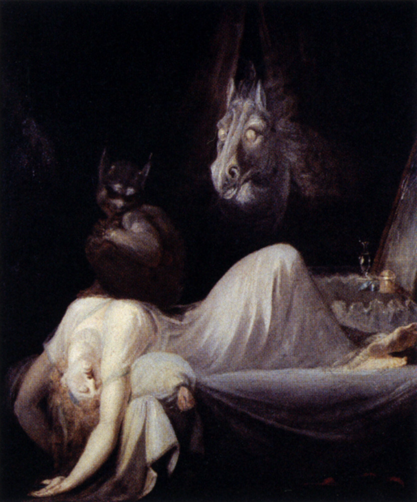 cavetocanvas:  John Henry Fuseli, The Nightmare, 1790-91
