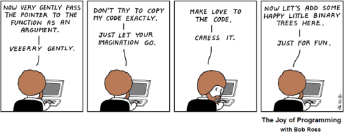 The Happy Programmer I think Abstruce Goose is my new favorite webcomic.