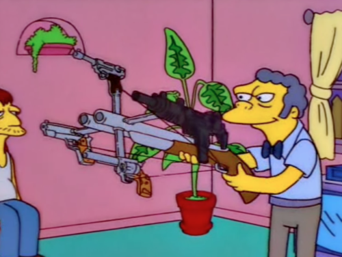 And that's how, with a few minor adjustments, you can turn a regular gun into five guns