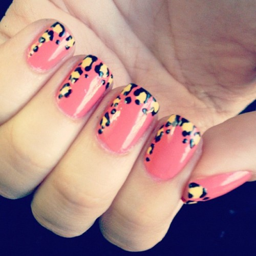 My #favorite #naildesign #leopard. (Taken with Instagram)