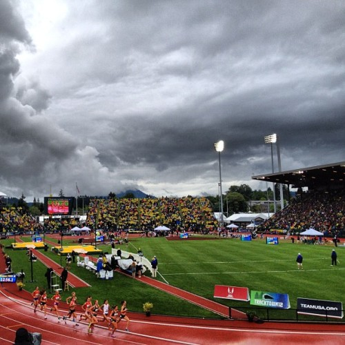 Olympic Trials, Day 4 (Taken with Instagram at Hayward Field)