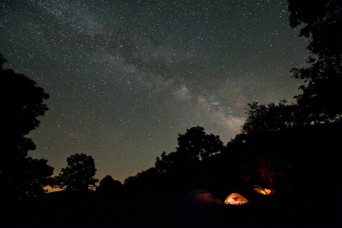 Camping Under the Milky Way by jon_beard on Flickr. Cold Mountain Meadow camping under the milky way stars. Outdoor Sporting Goods