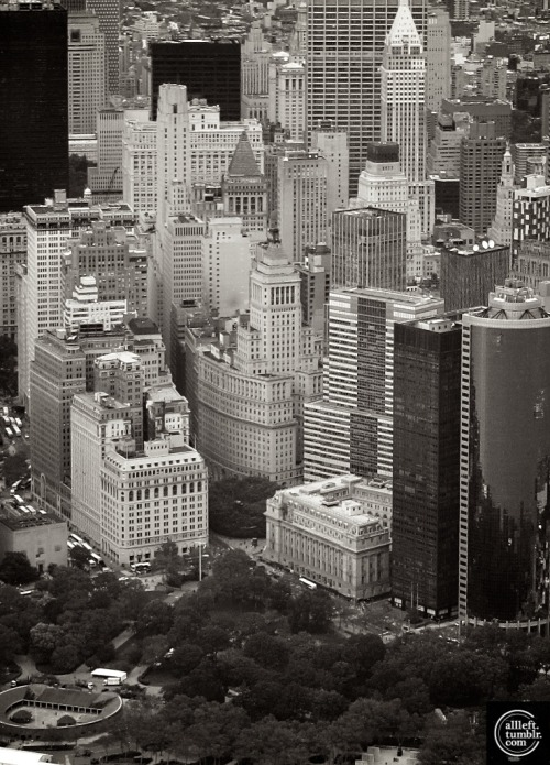 Lower Manhattan by Alberto Reyes