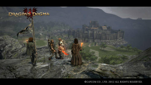"My short rent of Dragon's Dogma for only one night was very enjoyable :) It kept my interest, and I thought that the love it/hate it Pawn System was a pretty cool idea, although I think that it could be improved in a few ways. For instance, maybe I could level up the two ""borrowed"" pawns for, say, only 5 levels, which could then leave the creator with a little bit of experience as well, instead of sending their pawn off with just a measly HP recovering herb. Anyways, I enjoyed the game for the 5+ hours I played of it. I would consider getting the game when it drops down in price. I played as a female Mage named Claire, whose trusty pawn that I created was a female Strider (archer/knives) named Jennifer. I grew a bit too attached with a really attractive female pawn fighter that I came across, whose name was Red (she's the third one in the picture, going left to right). She proved to be very useful, and her armor was awesome! It must have been some beginner's DLC, for she was only lvl 10. My favorite moment was during a quest when I faced a big strong ogre guy, and one of my pawns shouted out ""He targets women most of all!"" My ENTIRE party was women! LOL! Dragon's Dogma has an interesting story, a pretty world, intense fights with HUGE bosses, and a massive variety of pretty characters. If you have been thinking about playing it, you should. :D"