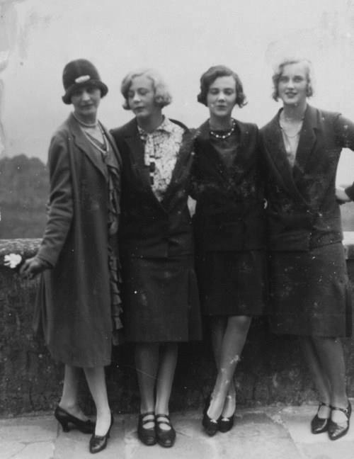historiful:  A group of unidentified women. Date and photographer unknown.