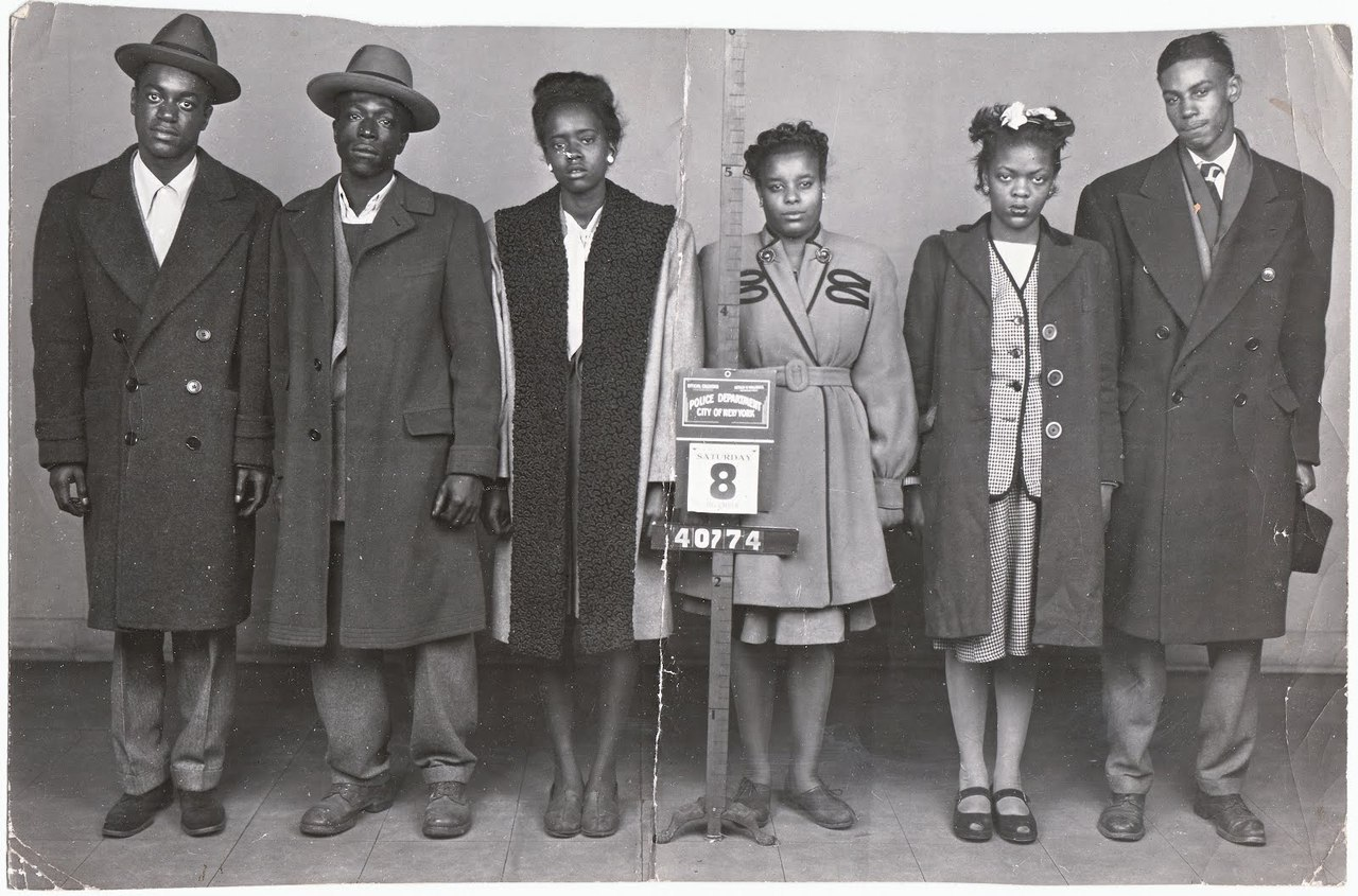 vintageblack2:  Mugshot from the 50s..