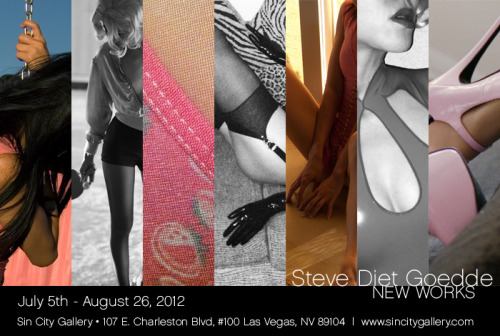 NEW WORKS SOLO SHOW AT SIN CITY GALLERY, LAS VEGAS JULY 5 • Opening reception with the artist6-11pm JULY 6 • Las Vegas Artwalk - Artist will be in attendance Show runs JULY 5 - AUGUST 26, 2012 Sin City Gallery @ the Arts Factory107 E. Charleston Ave - Suite 100Las Vegas, NV 89104www.sincitygallery.com