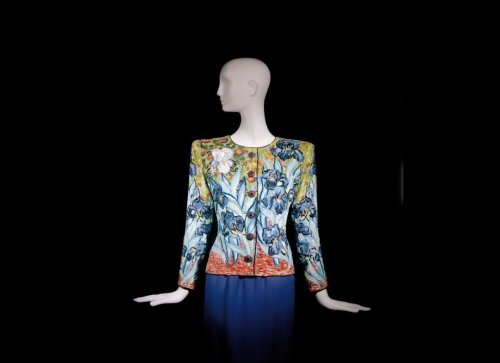 Yves Saint Laurent, Short Evening Ensemble, Tribute to Van Gogh, Spring/Summer 1988.