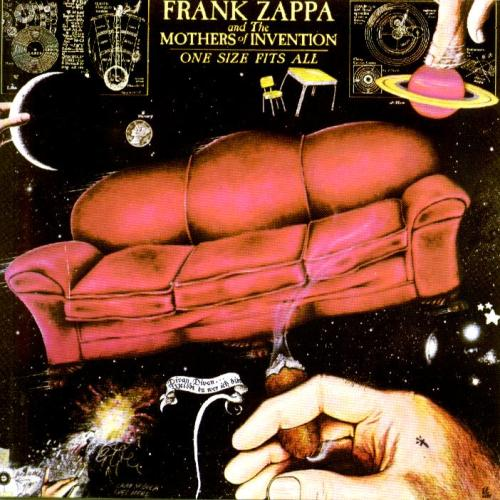 #OneSizefitsAll #LP #Vinyl #Mp3 #FrankZappa #Rock #Baltimore #Maryland ©1975