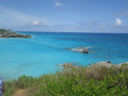 Healthy. Fitness. Vacation.   (Horseshoe Bay. Bermuda)