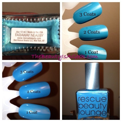 Faraway Nearby from GOMM by @rescuebeauty. #rbl #rescuebeautylounge #nails #nailswatch  (Taken with Instagram)