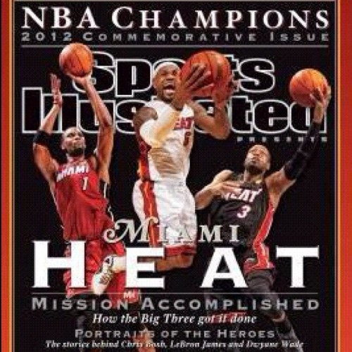 Go Get Your SI Today!  #letsgoheat #whitehotheat #miamiheat #miami ##heatmob #heatnation #instaheat #instaheatco #nba #nbaontnt #nbafinals #nbaonespn #nbaplayoffs #teamheat #teambosh #teamwade #teamhaslem #teamlebron #teamchalmers #mvp #mbplbj #lbj #donthatemiami  @miamiheat @miami_heat_fanatic @instaheat @instaheat_co @real7figurez @heatprincess305 @juicybunny @flacosucio @dllundberg @exzakt @einorgana @raquel1129 @jlo55 @danizunzun @meesowcorny @meccamalone  (Taken with Instagram)