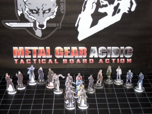 "albotas:  Konami Almost Made This Fan-Made Metal Gear Ac!d Board Game Into A Real Thing. Back in the early days of the PSP, there wasn't a whole heck of a lot to play (kind of like how with Vita today). Instead of an actual full-on Metal Gear, we got Metal Gear Ac!d - a weird turn-based deck-building strategy game that felt more like a board game than the Metal Gear games we all knew and loved (and wanted more of) at the time. It wasn't bad, it just wasn't what gamers were expecting. Metal Gear Ac!d wound up being popular enough to spawn a sequel and even managed to carve out its own niche of hardcore fans. One of those fans, by the name of Mike Wilson, loved the games so much that he spent two whole years making his own deck-building board game called Metal Gear Ac!d!c: Tactical Board Action which contained 120 unique cards. And, believe it or not, Konami considered making Mike's fan-made labor of love into a reality. Mike writes on his Behance page:  This project brings back so many different memories from my time at school. Being a manic Metal Gear Solid fan, I was totally enthused with how the Metal Gear Ac!d PSP game worked, and on all my play-throughs (85 hrs total playtime) I just kept thinking to myself: ""Wow, this would be awesome as a full-blown board game!"" So… at the start of 2005, production began and ideas started to try and translate the legendary game to the physical board; as part of a school Design Technology project. Being a wholly solo project, heaps of time was spent on producing upto 120 unique cards from all core Metal Gear games: MGS1, MGS2, MGS3 and the newly announced MGS4 (at the time).   It was essential that the game accurately reflected the game-play of Metal Gear Ac!d; maintained the strategy, tactical and team-play mechanics of the virtual game. After using tools such as the school's Laser Cutter, Pro Desktop, 2D Design, PowerPoint, Google and a standard home printer; the project was finally done and received major successful attention. Thus, scoring me a 97% mark for the subject.  Later on, the decision was made to actually approach Konami Japan about the game and to see about actually putting it into production. We got in through a contact in Konami Europe; and the game actually made a physical trip to the offices of Konami JPN. Although the idea was unfortunately not taken by Konami, a letter of thanks and appreciation was written from the European office. But more importantly for me; it had reached the eyes and attention of two very prestigious game designers: Hideo Kojima and Shinta Nojiri (Creator of Metal Gear Ac!d). Whilst no official word came from Kojima-san himself, Nojiri-san expressed that he ""really didn't think fans would go so far with his idea"" and was really impressed by it.  That, made the whole two years completely worthwhile.  Them's the breaks, Mike. Well, at least we have the Risk: Metal Gear Solid edition!"
