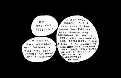 thelonesomewanderer:  How Are You Feeling?, David Shrigley