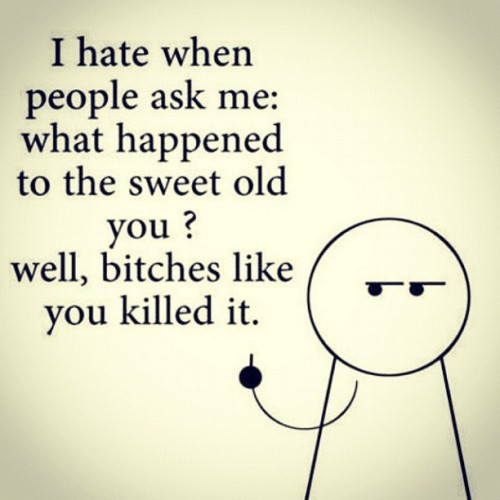 Haters be hating. xD #old #haters #be #yourself  (Taken with Instagram)