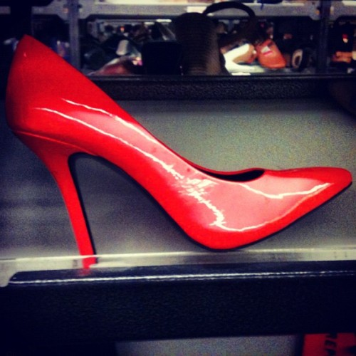 I think I could rock these. #dudesinheels (Taken with Instagram)