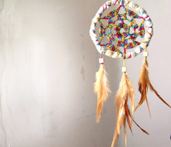 Rainbow Dreamcatcher - $19.00