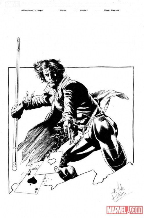 Gambit (Remy LeBeau) by Mike Perkins.