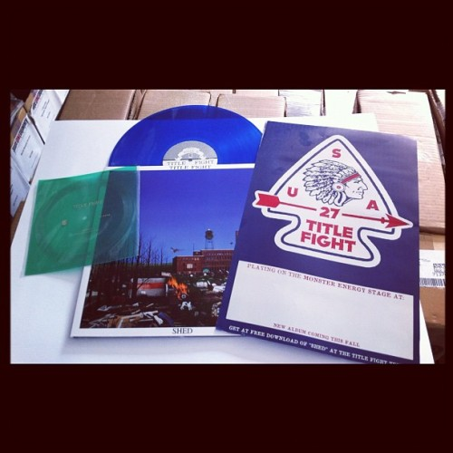 SideOneDummy Vans Warped Tour Instagram Contest Week 2: Title Fight Prize pictured. If you're attending the Warped Tour this week (6/25- 7/3), share your picture of Title Fight live on Instagram/Twitter using hashtag #sideonewarped and we'll chose our favorite picture to award the prize above. See rest of details here. GOOD LUCK!