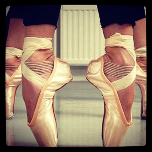#ballet #photography #pointeshoes #firstposition (Taken with Instagram)