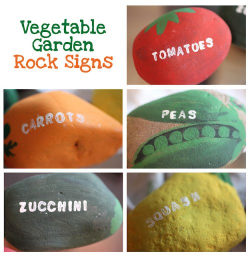cajunmama:  (via Repeat Crafter Me: Vegetable Garden Rock Signs)  I don't have a garden now, but I intend to either soon or next summer.