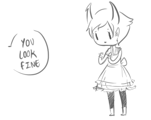 3amstars:       ——————————Have some more self-conscious Kanaya from this