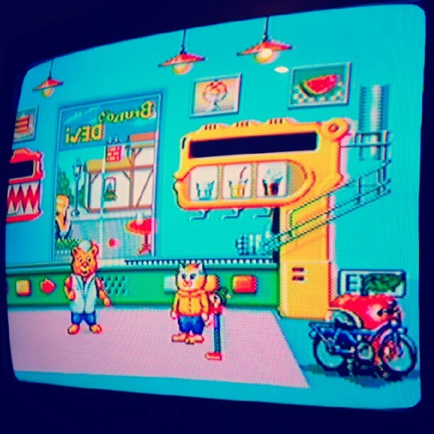 #busytown #nostalgia (Taken with Instagram) For Teke! (turns out I have the Genesis rom of this game n_n)