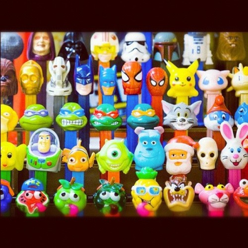 #candy #characters #disney #pez #cute (Taken with Instagram)