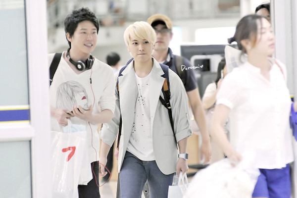 Sungmin new blonde hair (: