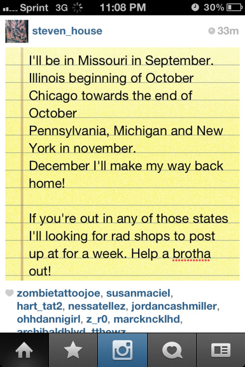 @Steven_House is traveling!! Excited for this YG