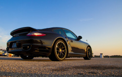 visualuniverse:  2012 Porsche Turbo. This is what I drove on the 1/4 mile track in Ennis, TX