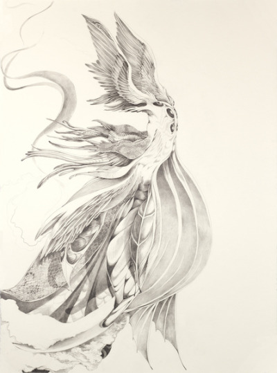 (via Fin and Feather Gown Art Print by Kristin Richland | Society6)