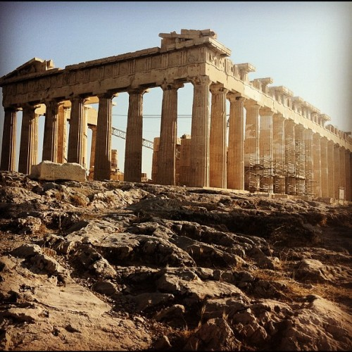 Afternoon Atop the Acropolis, Athens,Greece (Taken with Instagram)