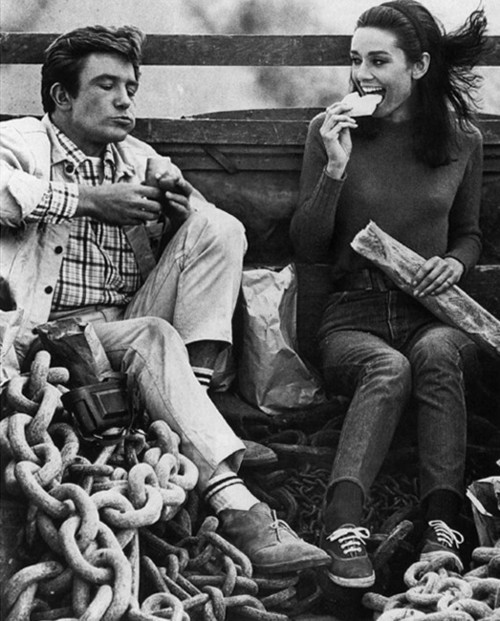 alwaysprettyinblack:  Audrey Hepburn and Albert Finney in Two For The Road.