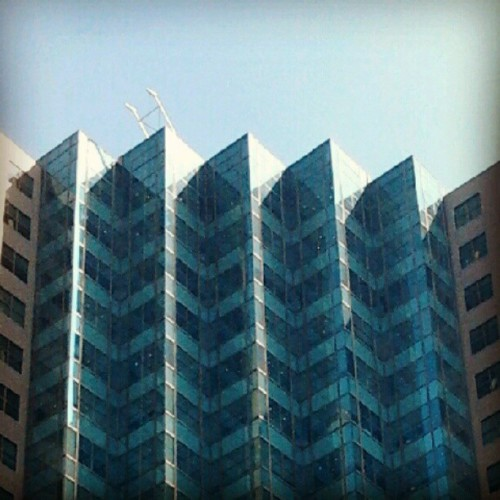 Alien Plane?! #instagram #architecture #building #office #top #photographystreet #jakartatoday #jj_forum #instagood   (Taken with Instagram)