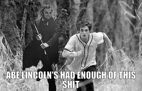 SPOILER ALERT: Abe Lincoln's had enough of this shit!