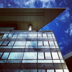 Ogledalo neba #sky #clouds  #reflection #instagram #android (Taken with Instagram)