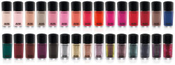65 new nail polish shades from MAC
