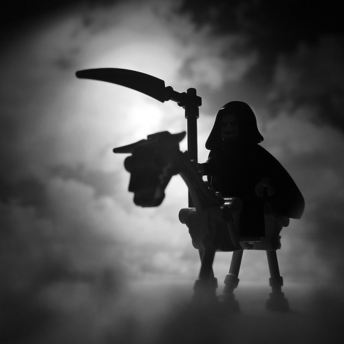 lospaziobianco:  itlego:  Don't Fear the Reaper Created by R D L   .