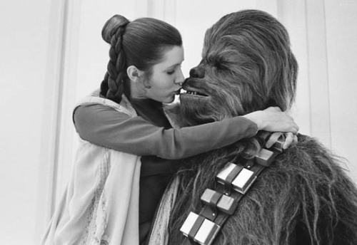 I know there is a handsome prince in there somewhere… Ah, yuk, Wookie Breath…